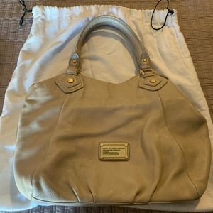 Marc Jacobs leather tote with strap